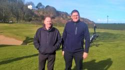 Ulster Fourball Team Captain Kevin McHugh & Captain Andy Burns 25th March 2018