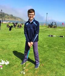 CONGRATULATIONS to ORAN McCAMBRIDGE who has qualified to play in the Regional Finals of the Adidas Golf Wee Wonders British Championships 2018 in Sligo on 8th July.
