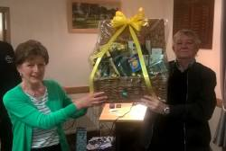 Easter Hamper Winner Gerry Faulkner