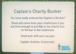 Captain's Charity Bunker