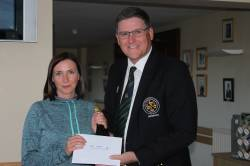 Orla O Neill - Winner - Captain's Prize to Ladies