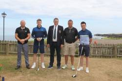 Kevin Elliot, David Burns, Captain Andrew, Vice Captain Joe & Christy Mc Laughlin