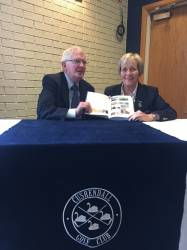 Author Denis O'Hara and Lady Captain Eveleen