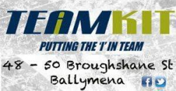 Sponsored by TeamKit Ballymena