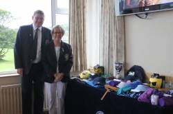 Junior Captain's Day Prizegiving - Lady Captain Eveleen and Captain Andrew