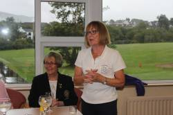 Junior Captain's Day Prizegiving - Chairperson Christine McSparran