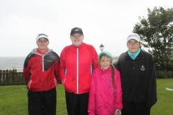 Julia Hill, Anna Brewster (Royal Belfast) Amy Kelly, Naomi Gordan Foster (Massereene)