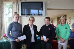 RUNNERS UP - Ellie Smyth (Spa) & Victoria Cosgrove (Malone)