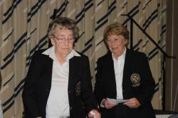 Lady President Rosemary introduces Lady President 2019-2021 Mrs Deirdre Kearney