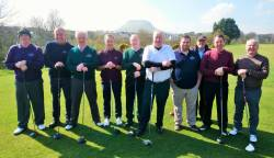 Cushendall All Ireland 4Ball team 6/4/19 Result Cushendall 5 - 0 Ballybofey & Stranorlar Golf Club