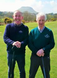 Dominic Harvey & Nigel O'Boyle All Ireland 4Ball team 6/4/19