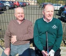 Ali McQuillan & Kevin McHugh All Ireland 4Ball team 6/4/19