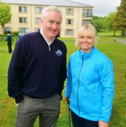 Henry McAlister & Carole Ward - Mixed Foursomes team 19/5/19