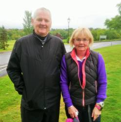 Paul Delargy & Roisin Darragh - Mixed Foursomes team 19/5/19