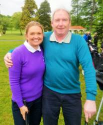 Tara McCambridge & Alastair Darragh - Mixed Foursomes team 19/5/19