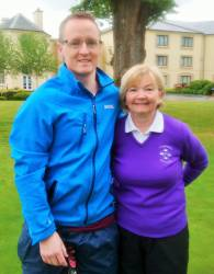 Conan McToal & Dolores McDonnell - Mixed Foursomes team 19/5/19