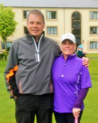 Joe O'Neill & Joanne McCambridge - Mixed Foursomes team 19/5/19