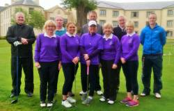Mixed Foursomes team 19/5/19 @ Roe Park Limavady