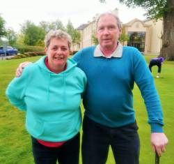 Joan Campbell & Alastair Darragh Mixed Foursomes 19/5/19