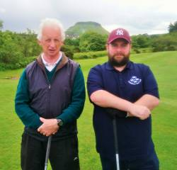 Nigel O'Boyle and Colum Thompson All Ireland Fourball team 9/6/19