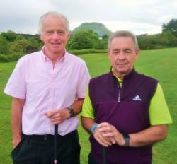 David Macaulay and Frankie Quinn All Ireland Fourball team 9/6/19