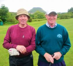 Eamonn McKeegan and Dan McKeegan All Ireland Fourball team 9/6/19