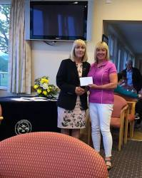 Runner Up - Hilary Scott Gibson (Lady Captain Edenmore)