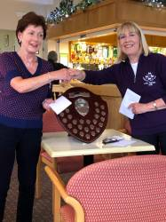 Lady Masters Two's WINNER - Anne Harvey