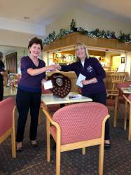 Lady Masters Front 9 WINNER - Anne Harvey