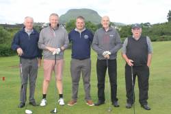 1. On the Tee - David Macauley - Trevor Edgar - Stephen Campbell - Joe Jamison
