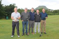 2 On the Tee - Philip Sharpe - Vincent O'Hara - Raymond Kelly - Vice Captain Dominic Harvey