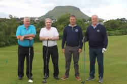 3 On the Tee  - Brendan McNaughton - Alastair Darragh - Karl Gallagher