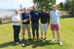 On the Tee - Ali McQuillan - Gerry Faulkner - Mark McCambridge - Lawrence McCrudden