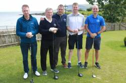 On the Tee - Donough McNaughton - Alister Rowan - Ronan Kearney - Niall Wheeler Jnr