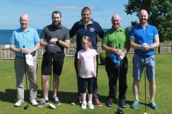 On the tee - Brian Rainey - David McKeegan - Artie Harvey - Karl McKeegan