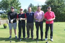 On the tee - Leo Morgan - Killian Morgan - Donal McNaughton - Alan Thompson