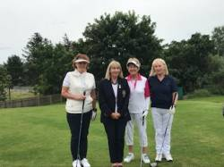 On the Tee: Mary O Kane, Colette Delargy, Kate McAlister
