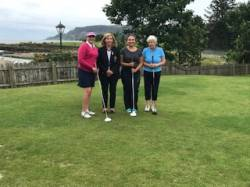 On the Tee: Lady Captain Balycastle, Claire Delargy