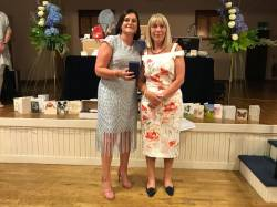 Visitors Prize - Lady Captain Ballycastle - Lind Busby