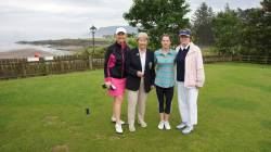 On the Tee - Nicola Kearney, Nicola Scullion, Brid Buckley