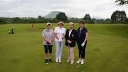 Lady Captain Derval, Mary O'Kane, Lady Vice Captain Siobhan