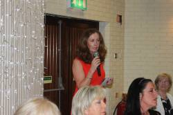 Nicola Kearney talks about Lady President's Charity PIPS