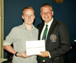 Captains's Prize Winner:  Conan McToal