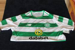 Celtic top signed by Brendan Rodgers