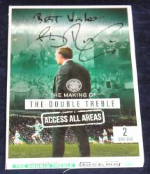 Celtic DVD signed by Brendan Rodgers