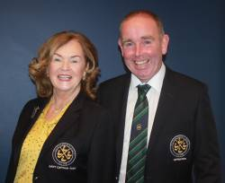 Lady Captain Siobhán & Captain Dominic