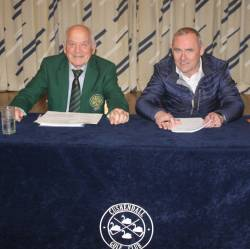 Club Officers - Chairperson Niall Wheeler & Hon Sec Kevin McCann