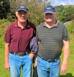 Greenkeeper John Delargy & Head Greenkeeper Liam Elliott