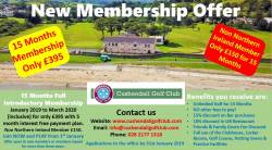 Membership offer 2019. Get 3 months free, 15 months membership only £395 - ENDS 31 Jan 2019.
