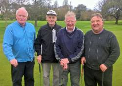Ballycastle 3/11/17 Harry McAlister, Charlie Delargy, Charlie McCurry & Cormac O'Loan